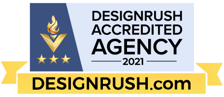 Badge - Accredited Agency by Design Rush